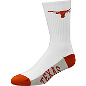 Texas Longhorns Team White Crew Socks
