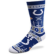 For Bare Feet Indianapolis Colts Superfan Crew Socks