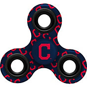Forever Collectibles Cleveland Indians All-Over Print Three Way Diztracto Spinnerz