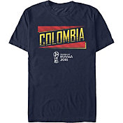 Fifth Sun Men's FIFA 2018 World Cup Russia Colombia Slanted Navy T-Shirt