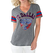 G-III For Her Women's FC Dallas Triple Play Grey T-Shirt