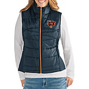 G-III for Her Women's Chicago Bears Wingback Navy Full-Zip Vest