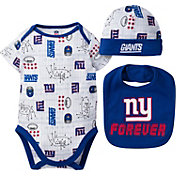 Gerber Infant New York Giants Cap/Bib Onesie Set