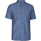 Hurley Men's One & Only 2.0 Woven Short Sleeve Shirt