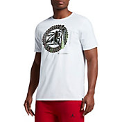 Jordan Men's Pure Money Bank Note Graphic T-Shirt