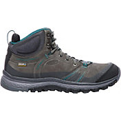 KEEN Women's Terradora Leather Mid Waterproof Hiking Boots