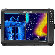 Lowrance HDS-12 Carbon Fish Finder/Chartplotter Combo with TotalScan Transducer