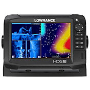 Lowrance HDS-7 Carbon Fish Finder / Chartplotter Combo with TotalScan Transducer