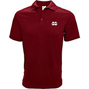 Levelwear Men's Mississippi State Bulldogs Maroon Helium Polo