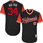 Majestic Men's Authentic Washington Nationals Bryce Harper 'Big Kid' MLB Players Weekend Jersey