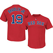 Majestic Men's Boston Red Sox Jackie Bradley Jr. #19 Red T-Shirt