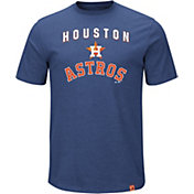 Majestic Men's Houston Astros Stoked Navy T-Shirt