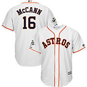 Majestic Men's 2017 World Series Champions Replica Houston Astros Brian McCann Cool Base Home White Jersey