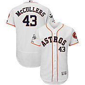 Majestic Men's 2017 World Series Champions Authentic Houston Astros Lance McCullers Flex Base Home White On-Field Jersey