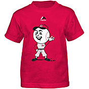 Majestic Toddler Cincinnati Reds Mascot Red T-Shirt