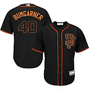Majestic Youth Replica San Francisco Giants Madison Bumgarner #40 Cool Base Alternate Black Jersey