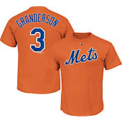 Majestic Youth New York Mets Curtis Granderson #3 Orange T-Shirt