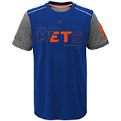 Majestic Youth New York Mets Cool Base Club Series Royal Performance T-Shirt