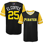Majestic Youth Pittsburgh Pirates Gregory Polanco 'El Coffee' MLB Players Weekend Jersey Top
