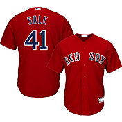 Youth Replica Boston Red Sox Chris Sale #41 Alternate Red Jersey