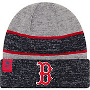 New Era Men's Boston Red Sox Clubhouse Knit Hat