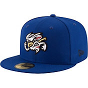 New Era Men's Omaha Storm Chasers 59Fifty Royal Authentic Hat