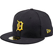 New Era Men's Detroit Tigers 59Fifty City Pride Maize/Blue Fitted Hat