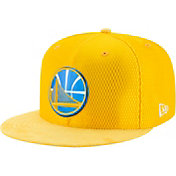 New Era Men's Golden State Warriors On-Court 59Fifty Fitted Hat