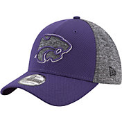 New Era Men's Kansas State Wildcats Grey Fierce Fill 39Thirty Stretch Fit Hat