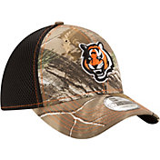 New Era Men's Cincinnati Bengals Real Tree Neo 39Thirty Camouflage Stretch Fit Hat