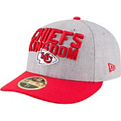 New Era Men's Kansas City Chiefs 2018 NFL Draft 59Fifty Fitted Grey Hat