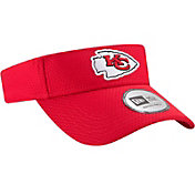 New Era Men's Kansas City Chiefs 2017 Training Camp Red Adjustable Visor
