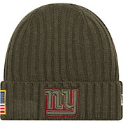 New Era Men's New York Giants Salute to Service 2017 Knit Hat