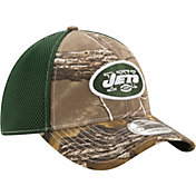 New Era Men's New York Jets Real Tree Neo 39Thirty Camouflage Stretch Fit Hat