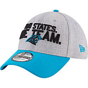 New Era Men's Carolina Panthers 2018 NFL Draft 39Thirty Stretch Fit Grey Hat