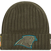 New Era Men's Carolina Panthers Salute to Service 2017 Knit Hat