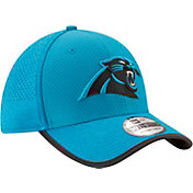New Era Men's Carolina Panthers 2017 Training Camp 39Thirty Blue Flex Hat