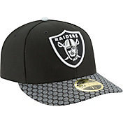 New Era Men's Oakland Raiders Sideline 2017 On-Field 59Fifty Fitted Hat