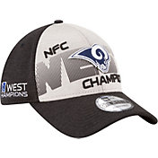 New Era Men's Los Angeles Rams NFC West Division Champs 9Forty Adjustable Hat
