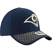 New Era Men's Los Angeles Rams Sideline 2017 On-Field 39Thirty Flex Hat