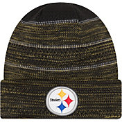 New Era Men's Pittsburgh Steelers Sideline 2017 On-Field TD Knit Hat
