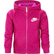 Nike Little Girls' Club Graphic Full Zip Hoodie