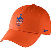 Nike Men's FC Cincinnati Crest Unstructured Orange Adjustable Hat