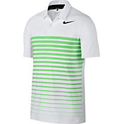Nike Men's Dry Heather Stripe Golf Polo