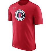 Nike Men's Los Angeles Clippers Dri-FIT Red Logo T-Shirt