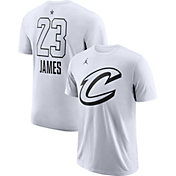 Jordan Men's 2018 NBA All-Star Game LeBron James Dri-FIT White T-Shirt