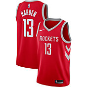 Nike Men's Houston Rockets James Harden #13 Red Dri-FIT Swingman Jersey