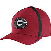 Nike Men's Georgia Bulldogs Red AeroBill Football Sideline Coaches Classic99 Hat