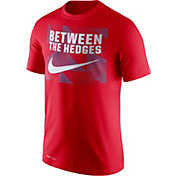 Nike Men's Georgia Bulldogs Red Dri-FIT Legend Franchise T-Shirt