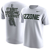Nike Men's Michigan State Spartans 'Izzone' Fan White T-Shirt